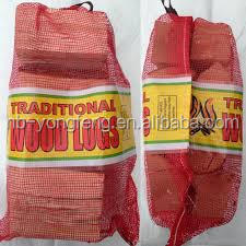 Firewood Bags UV added ,cheap plastic packaging