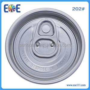 Manufacturer,Yiwu eoe 202 aluminum easy open end