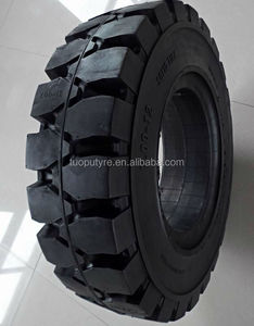 Solid rubber tyre for Fork lift truck