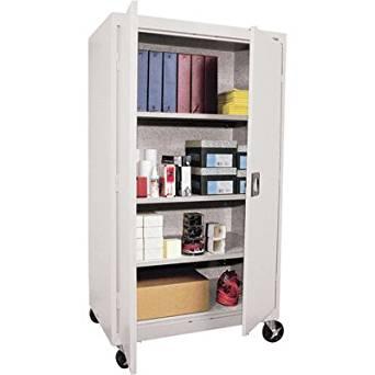 Sandusky Lee TA3R462460-05 Transport Series Mobile Storage Cabinet, Dove Gray