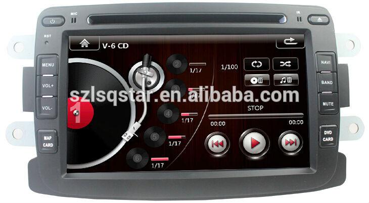 lsq star 2 din lecteur dvd de voiture pour renault duster logan sandero avec gps 3 g pas. Black Bedroom Furniture Sets. Home Design Ideas