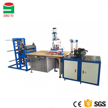 High Frequency welding machine for making PVC pocket