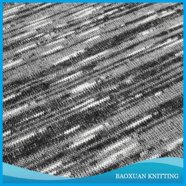 Circular Knitting Fabric : Heather knitting fabric poly spandex circular space