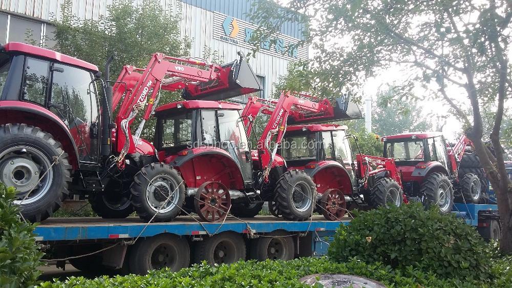 4wd l 39 agriculture tracteur avec pelle r trocaveuse buy tracteur avec chargeur vendre. Black Bedroom Furniture Sets. Home Design Ideas