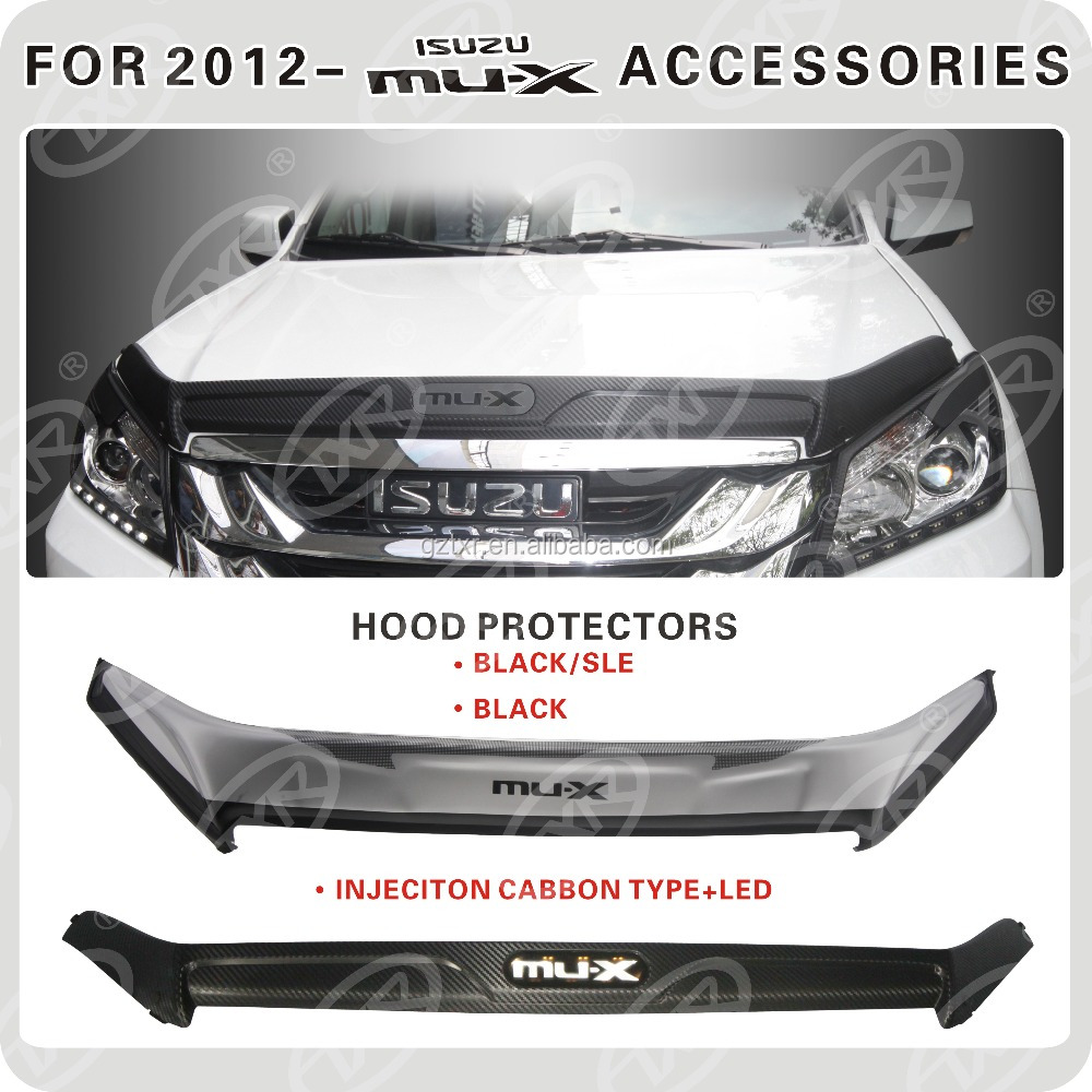 For 2012 Mu X Accessories Hood Protectors Buy Protector Apple Isuzu Mux Cableplastic Chairsscreen Blu Life Play Product On