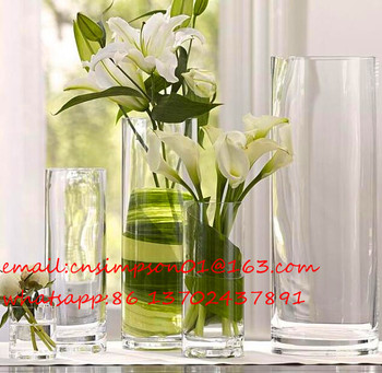 crystal vase decorations wedding decoration clear round glass vases buy small round glass. Black Bedroom Furniture Sets. Home Design Ideas