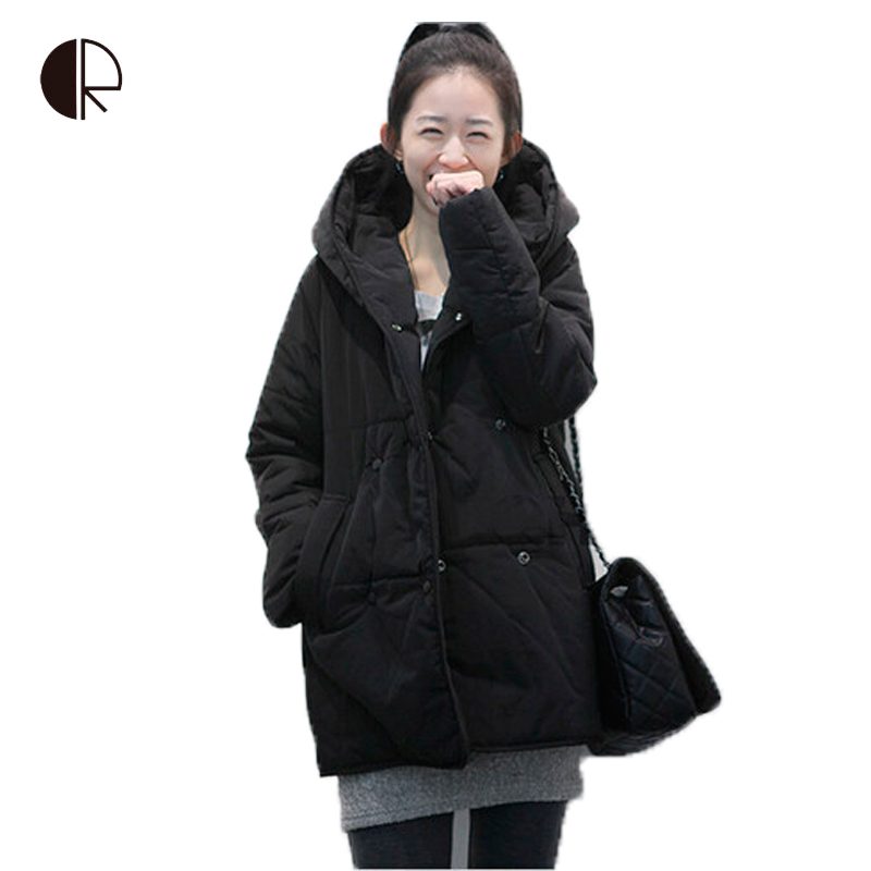 Winter Down Jackets 2015 High Quality Brand Women Warm Large Collar Goose Down Parkas Black Lady Long Down Coats Jacket