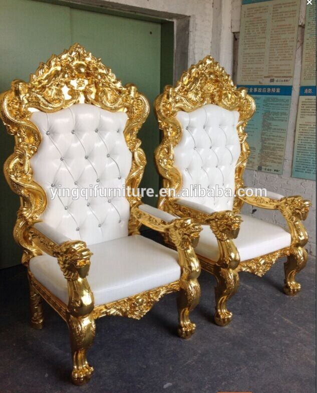 Exceptional Popular Wedding Throne King And Queen Chair For Sale