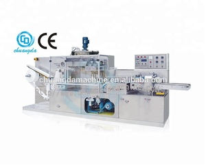 CD-160 Full Auto Single Piece Packing Disinfectant Wet Wipe Machine With Folding Machine And Packaging Machine