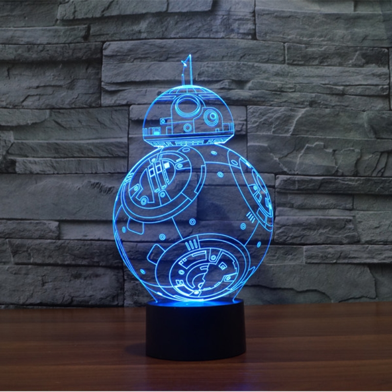 Bb 3d Novelty 3d 8 bb Led Lamp Lamp Buy On Illusion Product Lamp EHY2DW9I