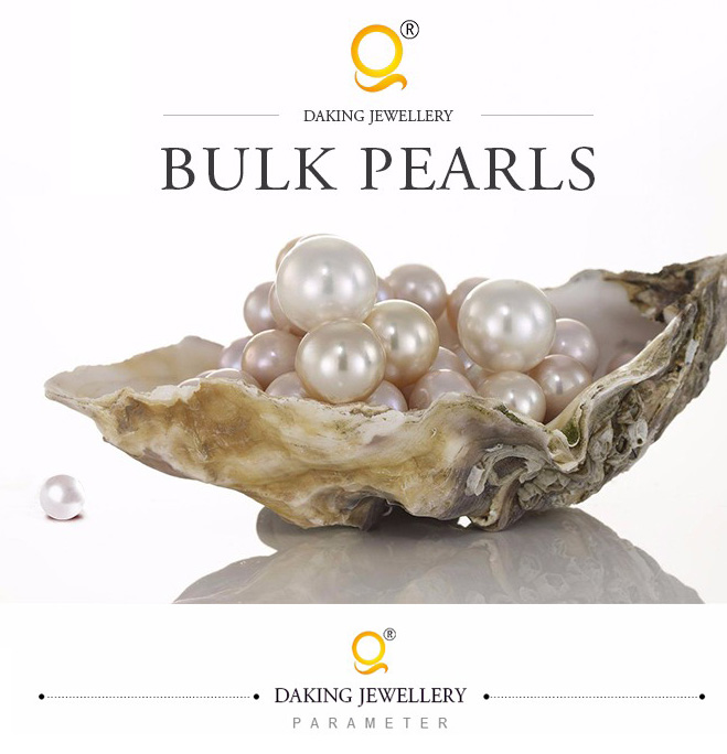 Gray cultured potato freshwater seed pearls