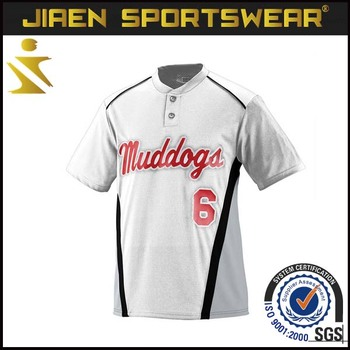 Custom sublimation printed make your own wool baseball for Customize your own baseball shirt