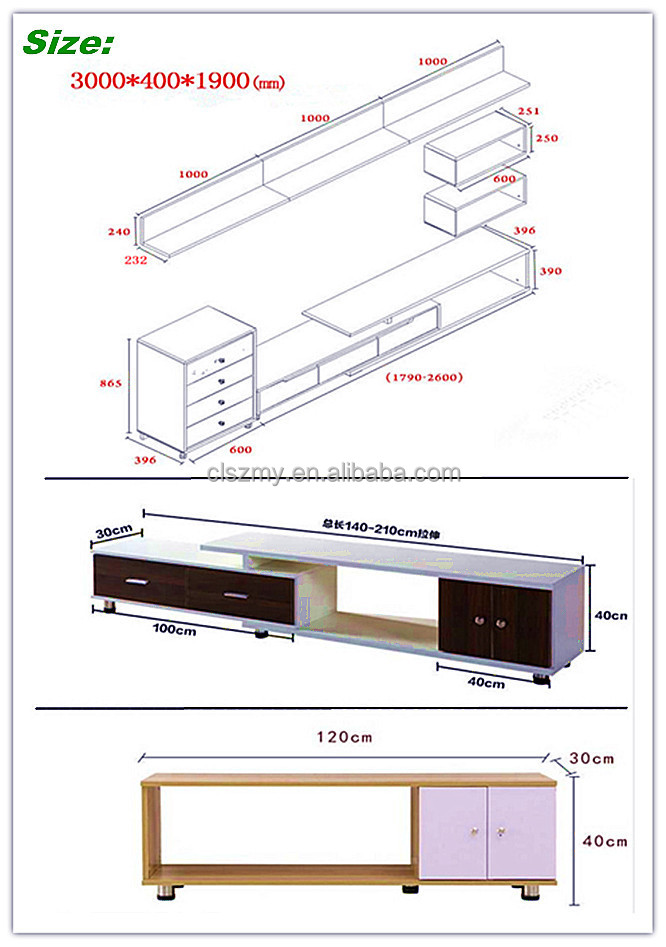 2015 High Quality Modern Fashion Tv Stands Tv Cabinet