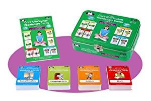 Core Curriculum Vocabulary Cards Level Three (Third Grade Words) - Super Duper Educational Learning Toy for Kids
