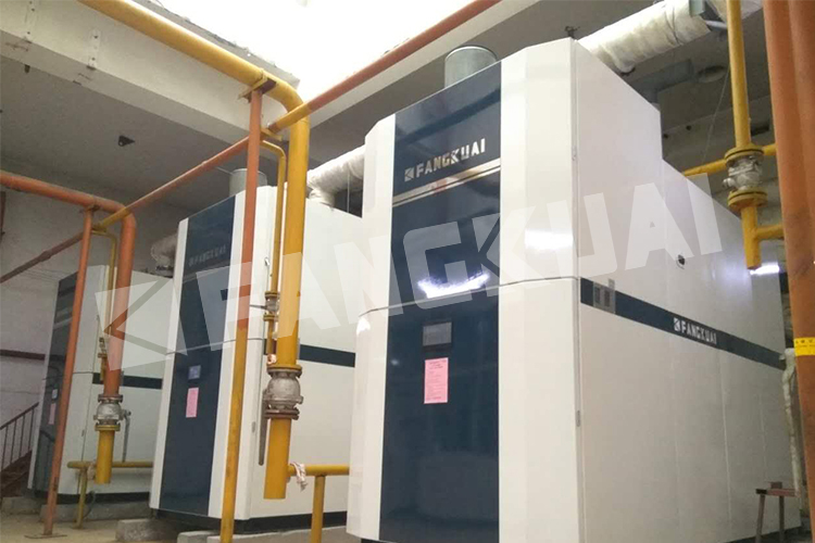 horizontal pre-mixed heavy oil fired boiler manufacturers low prices for sale