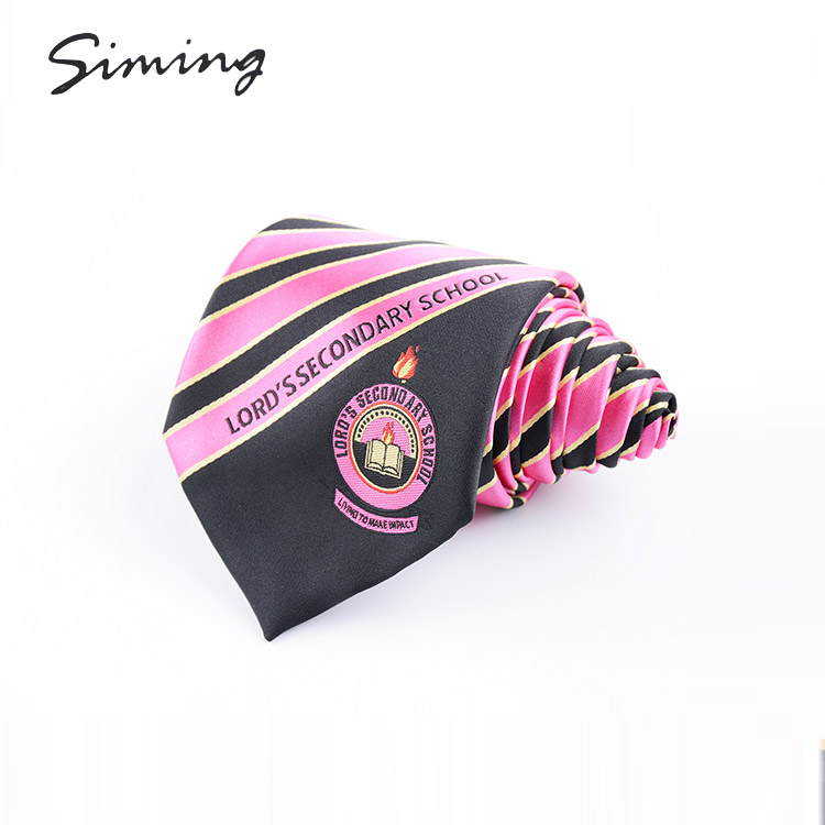 1200 needle polyester woven handmade latest custom mens neck ties with logo
