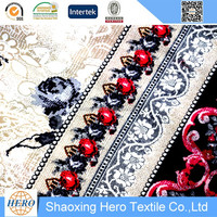Top Grade Linen Type Cloth Window High Quality African Wax Prints Fabric 6 Yards