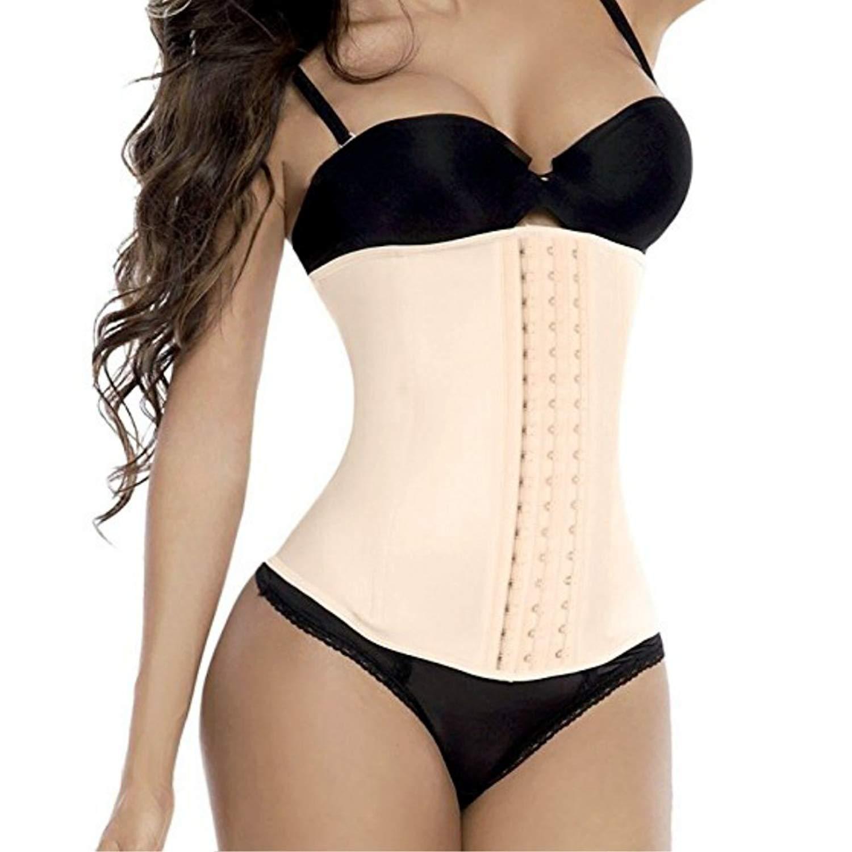 2176098c82d Get Quotations · Jxts - Top Waist Trainer Corset Waist Cincher Girdle  Hourglass Figure Tummy Control Tummy Slimmer Shapewear