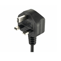 England British 3 Pin BSI Approval AC Power Cord 250V ASTA BS Electric Cable 3 Prong Fused UK Plug