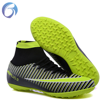 24f226ae7dd 2018 World Cup Russia Superfly Sports shoes Men Best High ankle Football  shoes