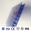 6mm twin wall polycarbonate panel clear and colored pc sun sheet