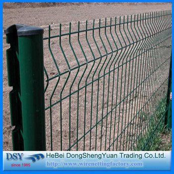 Anping Factory Pvc Coated Metal Security Farm Fencemodern House