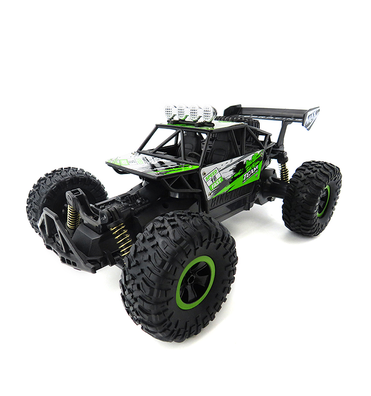 Flytec SL-156A Remote Car Scale High Speed RC Car Rock Off-Road Vehicle Crawler Truck Rally Car Remote Control Toy Green