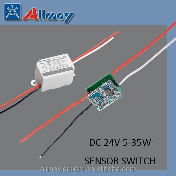 Dc24v luz del sensor de microondas interruptor sensor de - Sensor de luz precio ...