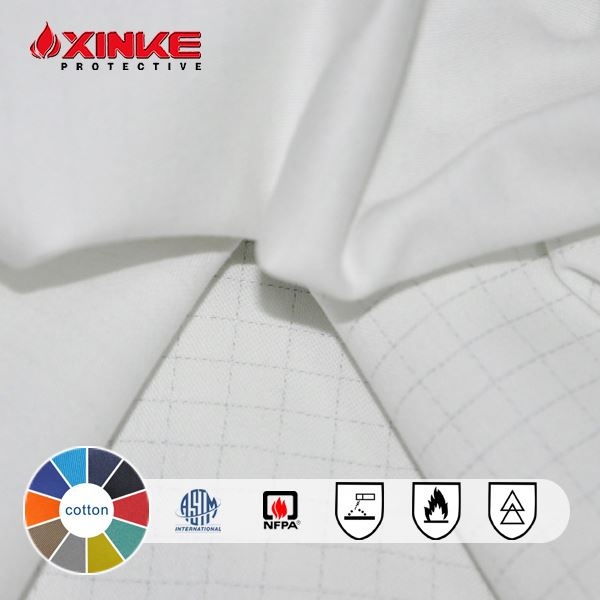 cotton 270gsm passed en11611 fr fabric export to american
