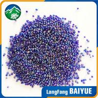 China supplier swim pool decorative irregular new glass beads