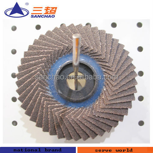 Plastic Backing Flexible Flap Disc 45 Pages
