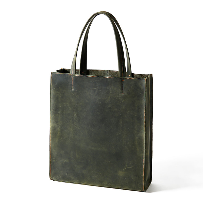 Donne Weekend Tote Bag In Vera Pelle
