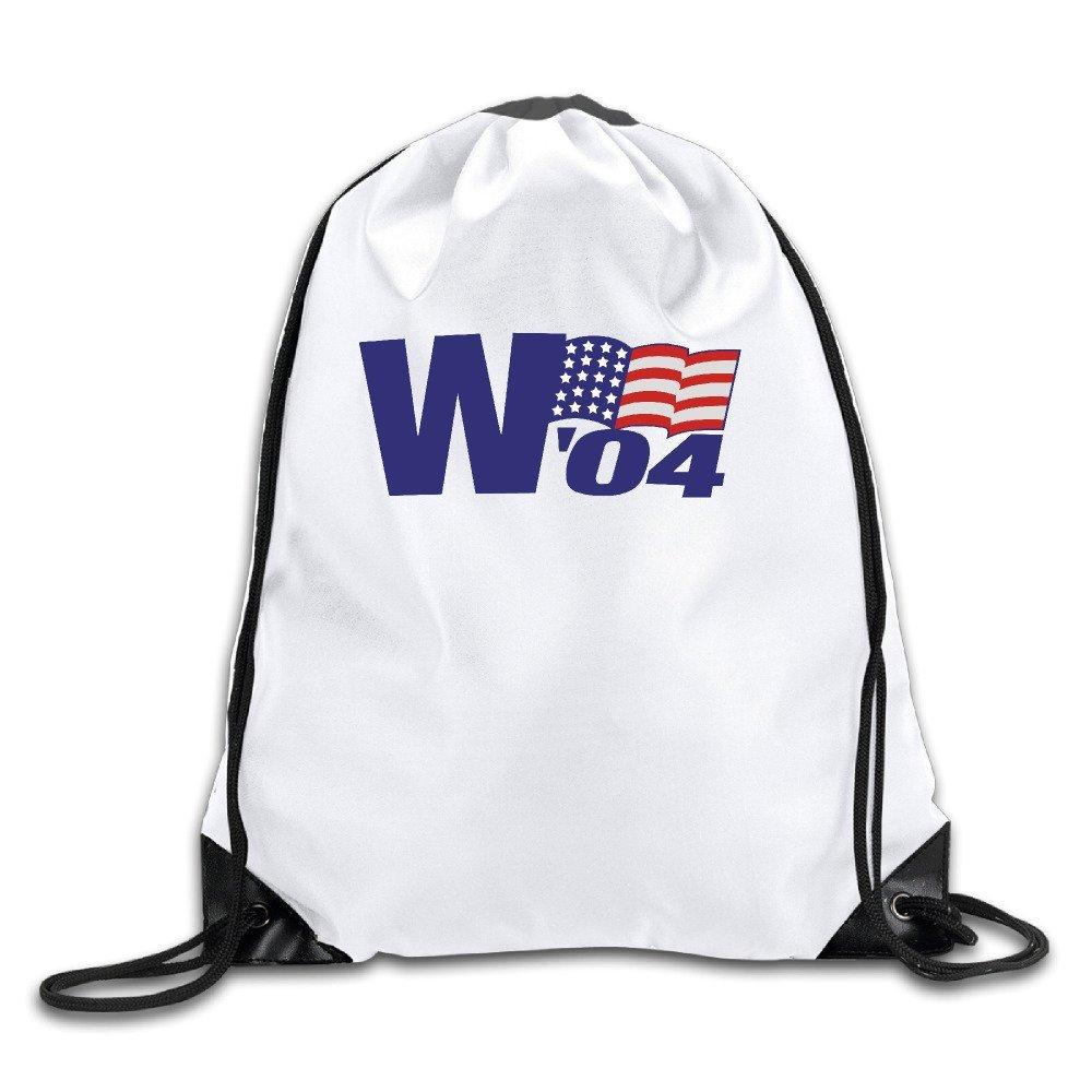 George W. Bush Vintage '04 Campaign Sport Drawstring Backpack Gym Bag