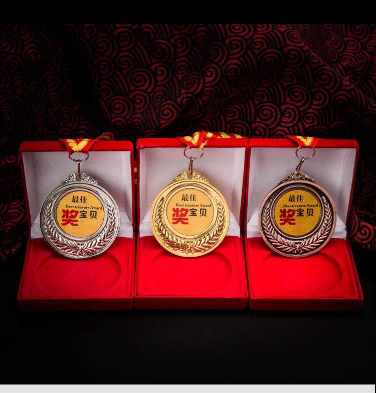 عالية الجودة مخصصة شخصية الرياضية المعادن شنقا ميدالية
