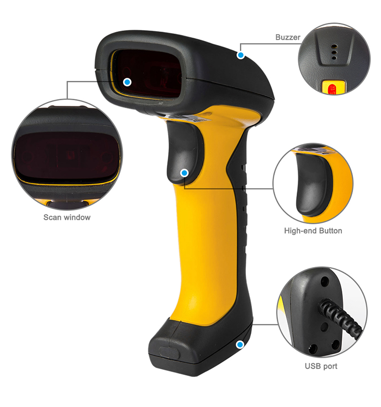 nt-1203 bluetooth wireless 2d ip67 industrial rugged barcode scanner with stand support android bluetooth