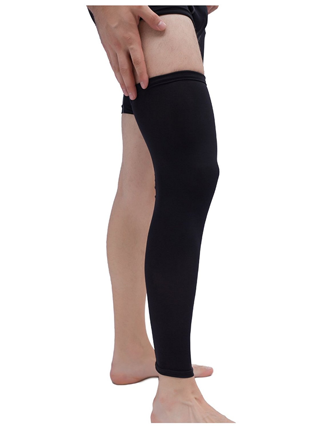 c8424165e5 Get Quotations · LAVYINGY Compression Long Knee Sleeves Basketball Knee Pad  Knee support Best Knee Protect for Basketball,