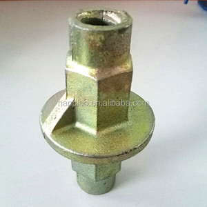 Cast metal formwork tie rod water stop 15/17mm made in china