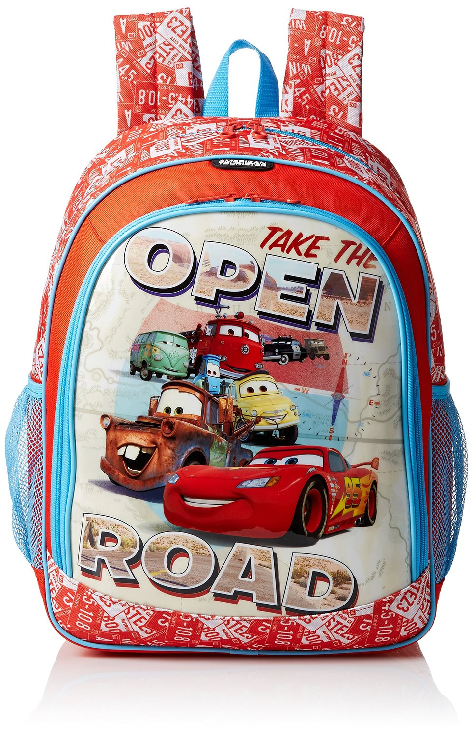 be8d5198594f Get Quotations · American Tourister 74721 Disney Cars Children s Backpack