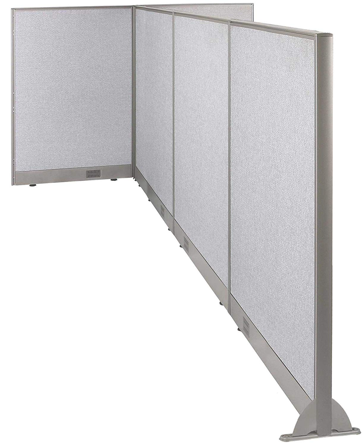 GOF T-Shaped Freestanding Partition 120d x 60w x 48h/ Office, Room Divider … (120d x 60w x 48h)