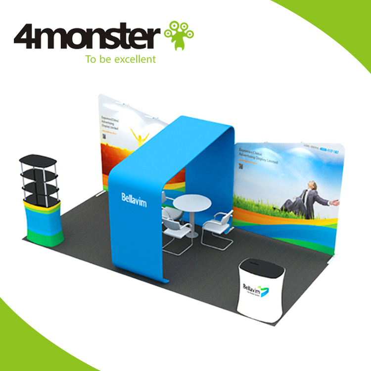 promotion hot selling exhibition portable and easy install 10x20 trade show booth