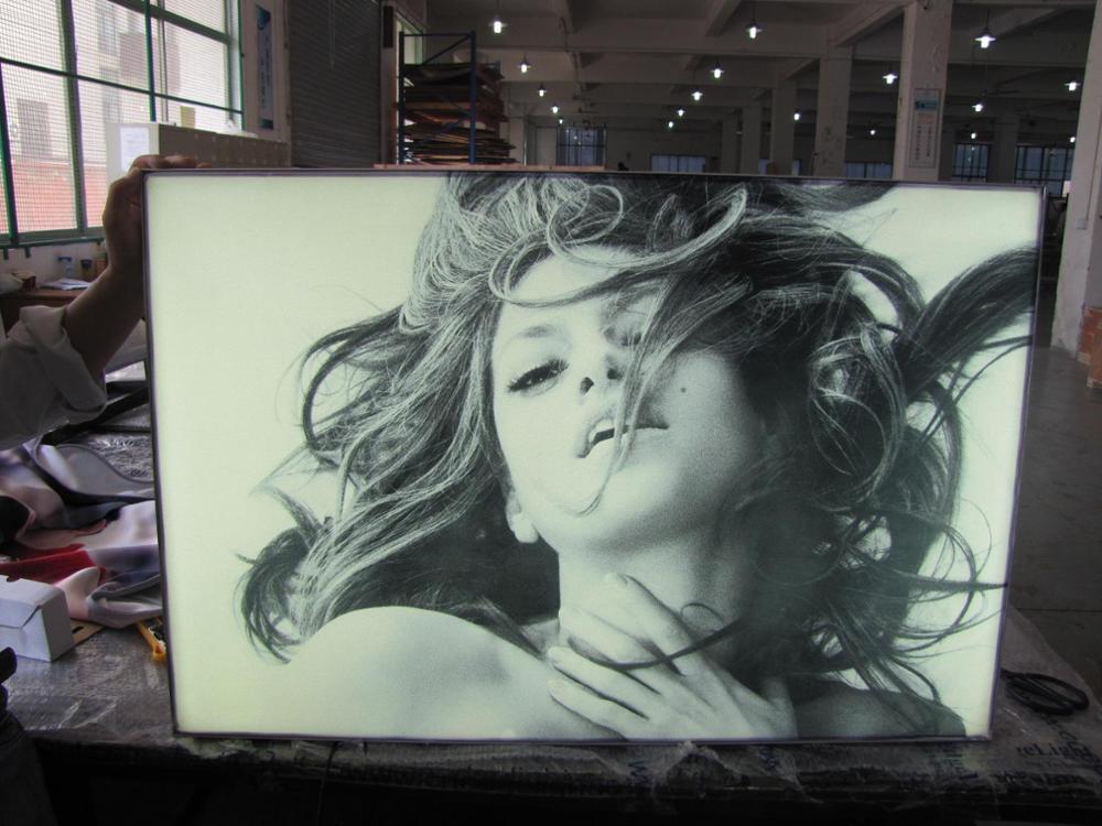 Fabric Lightboxes/backlit Led Light Box/canvas Light Box - Buy High Quality  Fabric Lightboxes Product on Alibaba com