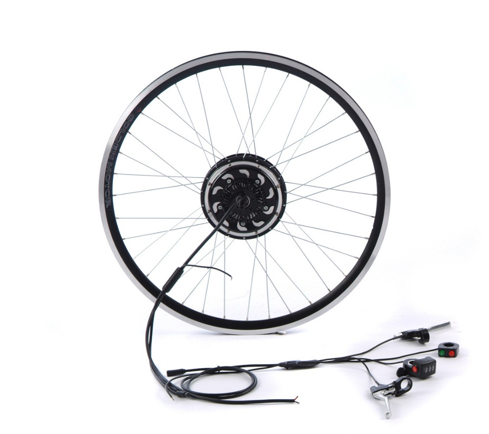 Smart Pie3 electric bike hub motor conversion kit with built-in programmable controller 200W/350W/500W