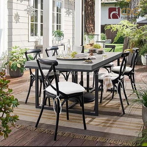 Vintage stackable retro rental event wedding metal dining bistro cafe outdoor chairs no rattan