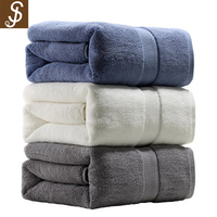 S&J 2017 High Quality Factory Price Cheap Promotional Wholesale Hotel Bath Towel