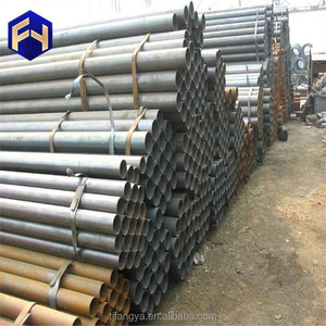 steel carbon pipe fiber square big black tube with low price
