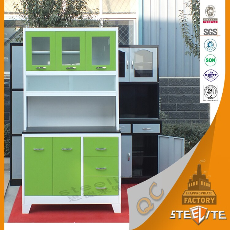 Zambia Cheap Price Modern Pantry Cupboards/kitchen Cabinet Designs With  Glass Doors