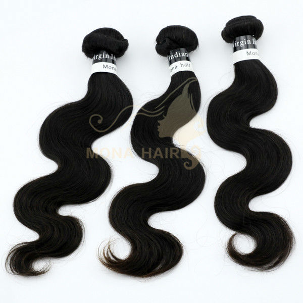 New!!!Top grade body weave drop shipping temple indian virgin hair