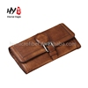 Brand new beautiful zipper around leather ladies wallet