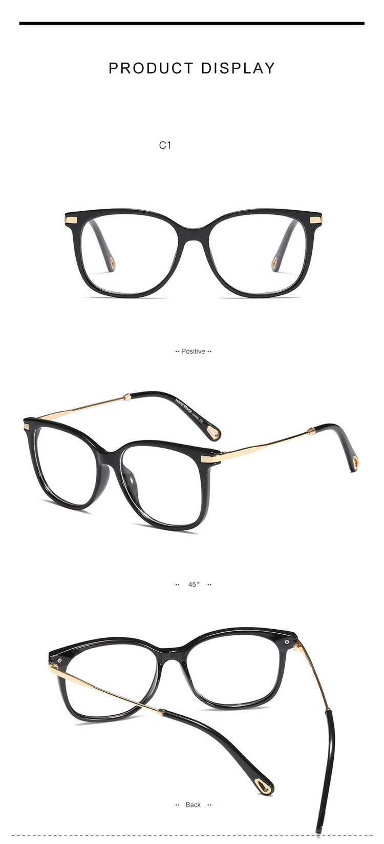Fashionable 2019 round reading frame Sale fast cheap eyewear
