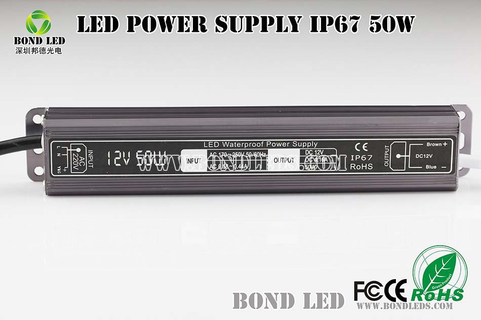High quality uninterrupted LED dc 12v 50w switching power supply 12v 4.2a with better after-sale service in Shenzhen